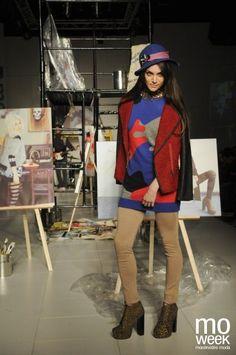 Bellmur en Itaú MoWeek, Invierno 2012. Foto: Pazos Landarín #fashion #uruguay