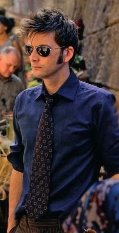 David Tennant. It's the sideburns that add to his sexiness.