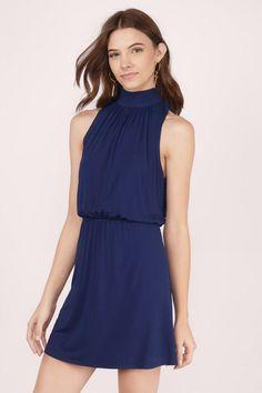 Athena Open Back Skater Dress at Tobi.com #shoptobi