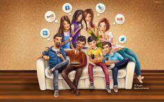 Revela estudio adicción de mexicanos a redes sociales