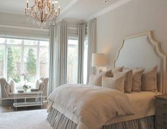 """Grace R (@lovefordesigns) on Instagram: """"A perfectly serene bedroom for a good night's sleep... . Via @tc_interiors…"""""""