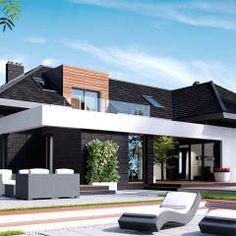 Casas modernas por HomeKONCEPT   Projekty Domów Nowoczesnych
