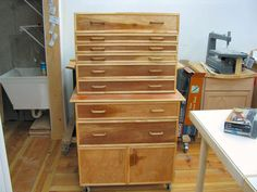 Built this Tool Cabinet for the Shop!