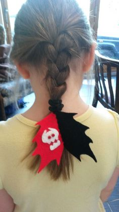 How to train your dragon Toothless tail hair bobble
