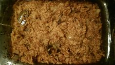 Janelle Anhwere's cooked jollof rice on July Jollof Rice, July 24, Food Test, The Dish, Meatloaf, Regional, Ghana, Banana Bread, Dishes