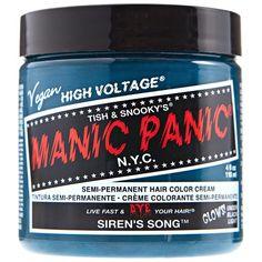 Manic Panic Classic Formula Semi Permanent Hair Color Cream Siren's Song