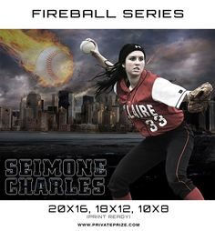 Seimone Baseball - Sports Fireball Series
