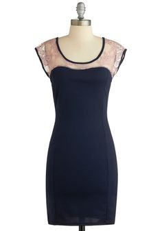$54.99 Dinner Guest of Honor Dress, #ModCloth