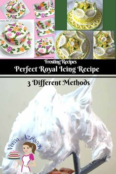 Royal Icing Recipe is a quick and easy icing that dries hard. It's very sweet be. - Royal Icing Recipe is a quick and easy icing that dries hard. It's very sweet because it's most - Royal Icing Recipe Cream Of Tartar, Royal Icing Recipe Using Egg Whites, Best Royal Icing Recipe For Cookies, Royal Icing Recipe With Egg Whites, Royal Frosting, Flooding Icing Recipe, Cookie Decorating Icing, Royal Icing Flowers, Frosting Recipes