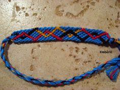 Learn how to make friendship bracelets_____ _____ _____ _____ _____ _____ _____ _____ _____ Photo by Added by Kimberlil Friendship bracelet pattern 6297 #diy #doityourself #howto #instructions #hobby #tutorial #pattern #braceletbook #diamonds #chevron