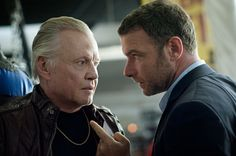 Jon Voight as Mickey Donovan and Liev Schreibe as Ray Donovan, Showtime 2013