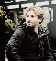 I'm just tuck this scrumptious back here for a bit.  Dean O'Gorman
