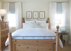 8 Clear Tips AND Tricks: Master Bedroom Remodel Dark Furniture farmhouse bedroom remodel subway tiles.Small Bedroom Remodel Dream Homes rustic bedroom remodel mason jars. Bedroom Ideas For Small Rooms Cozy, Bedroom Decor For Couples, Small Master Bedroom, Small Bedroom Designs, Cozy Bedroom, Kids Bedroom, Peaceful Bedroom, Bedroom Windows, Bedroom Bed