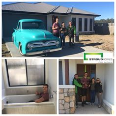 Congratulations to Matthew and Kayla on taking the keys to your stunning new home! How good does Matt's car look in the driveway of their beautiful modified Avoca 198! Stroud Homes Brisbane West hope you had fun moving in and enjoy it for many years to come! #stroudhomes #feelslikehome #newhome #blackandwhitequotes #happy #exciting