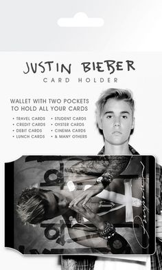 Justin Bieber - Window - Card Holder