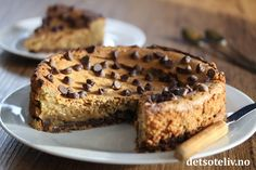 Cookie kladdkake | Det søte liv Banana Bread, Chips, Sweets, Cookies, Cake, Desserts, Food, Sweet Pastries, Pie Cake
