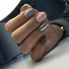 """If you're unfamiliar with nail trends and you hear the words """"coffin nails,"""" what comes to mind? It's not nails with coffins drawn on them. It's long nails with a square tip, and the look has. Gorgeous Nails, Love Nails, My Nails, Shellac Nails, No Chip Nails, Style Nails, Beautiful Gorgeous, Nail Swag, Super Nails"""