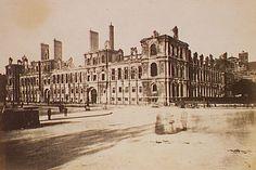 Hôtel de ville (vue générale), Siege of Paris, Special Collections, Northwestern University Library
