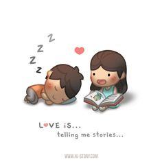 HJ-Story :: Love is... Storytelling | Tapastic Comics - image 1