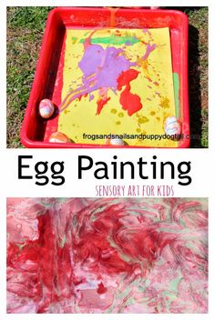 Egg Painting for kids by FSPDT