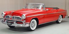 1955 Chrysler Windsor Convertible: Drivers Side Front View