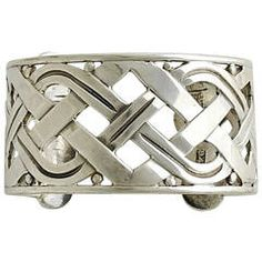 Hector Aguilar Sterling Silver Cuff Bracelet 1950
