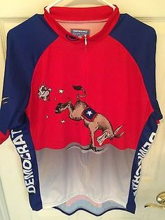 Democrat XXL Cycling Jersey by Performance Fox Man, Cycling Jerseys, Goodies, Graphic Sweatshirt, Best Deals, Sweatshirts, Sweaters, Men, Shopping