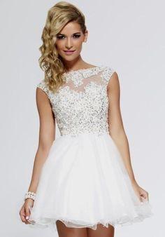 More details about 8th grade formal dresses white Naf Dresses
