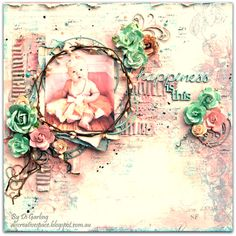 """Di's Creative Space: My Latest Kit for The Scrapbook DiariesNow Available in Their Store""""Happiness Is This"""""""