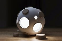 """Picture of """"Armstrong Light Trap"""" Lamp by Constantin Bolimond"""