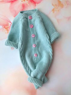8fd65a763 Personalized baby gift Baby girl wool romper Knit newborn romper Baby knit  jumpsuit Baby girl newborn clothes Baby girl outfit warm