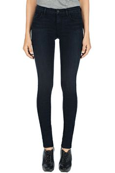 J Brand, 811 Photo Ready Mid-Rise Skinny Leg, impression, Womens : Skinny Leg, 811I540