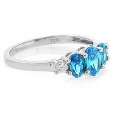 Love blue topaz