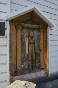 Lapuan vaivaisukko Wooden Sculptures, Birches, Seas, Margarita, Finland, Folk Art, Countries, Gazebo, Cathedral