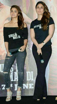 Alia Bhatt.  Kareena Kapoor