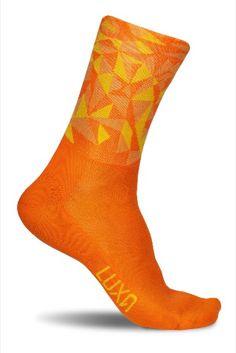 Ale Air Light 10 Neon-Orange Socks