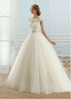 a8964d117 353 mejores imágenes de vestidos de novia hermosos