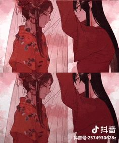 HOB/TGCF - Heaven Official's Blessing-BL [ Bahasa Indonesia] Belum Direvisi - Chapter The Mountain's Locked Ancient Temple, The Forest of Hanging Corpses Me Anime, Fanarts Anime, Anime Guys, Anime Characters, Manga Anime, Anime Art, Manhwa, Neji E Tenten, Chinese Artwork