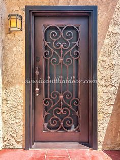 Did you know the iron entrance doors can resist any kind of burglary attempt? 💡 About this design: Vatican Single Entry Iron Door ☎️️ 877-205-9418 🌐 www.iwantthatdoor.com Wrought Iron Doors, Entrance Doors, Vatican, Design, Home Decor, Entry Doors, Entrance Gates, Decoration Home, Wrought Iron Gates