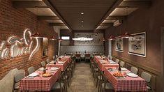 STUDIO SAGITAIR | Architettura - Interior Design - Render - Progetto Design Hotel, E Design, Interior Design, Cafe Bar, Conference Room, Studio, Table, Shop, Furniture