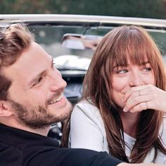 Photoshoot Oficial de Dakota Johnson y Jamie Dornan (3) | 50 Sombras Spain