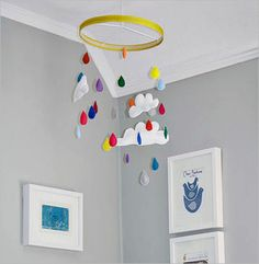 fun-adorable-batch-of-diy-baby-mobiles-rainbow-rain-drop-diy-baby-mobile-image, Photo fun-adorable-batch-of-diy-baby-mobiles-rainbow-rain-drop-diy-baby-mobile-image Close up View.