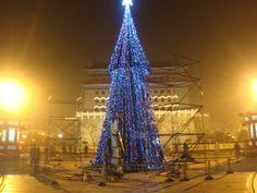 Christmas Tree just down Qianmen Da Jie - Photo by Adele Tang
