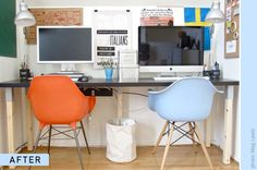 Office space ideas for two people