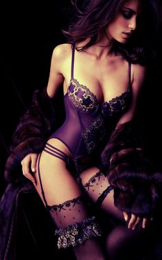 Purple Lingerie