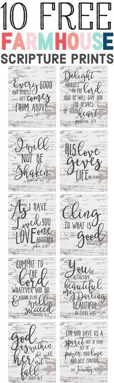 bible verses for moms printables