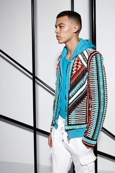 Balmain Spring 2015 Menswear Collection Slideshow on Style.com
