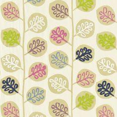 leaf pattern - sanderson @Beatrix de Bruin