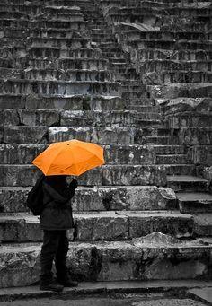 Epidaurus Theatre on a rainy day, by Christina Veneti #outdoorsgr