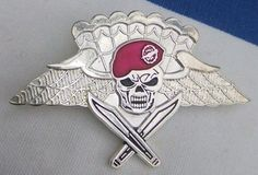 MEXICO Special Forces Airmobile Group (GAFE`s) Free - Fall Airborne badge